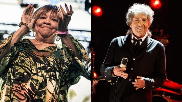 Bob Dylan & Mavis Staples at Tower Theatre