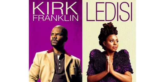 Kirk Franklin, Ledisi & PJ Morton at Tower Theatre