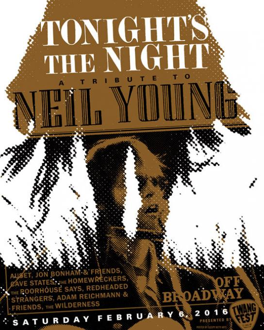 Neil Young at Tower Theatre
