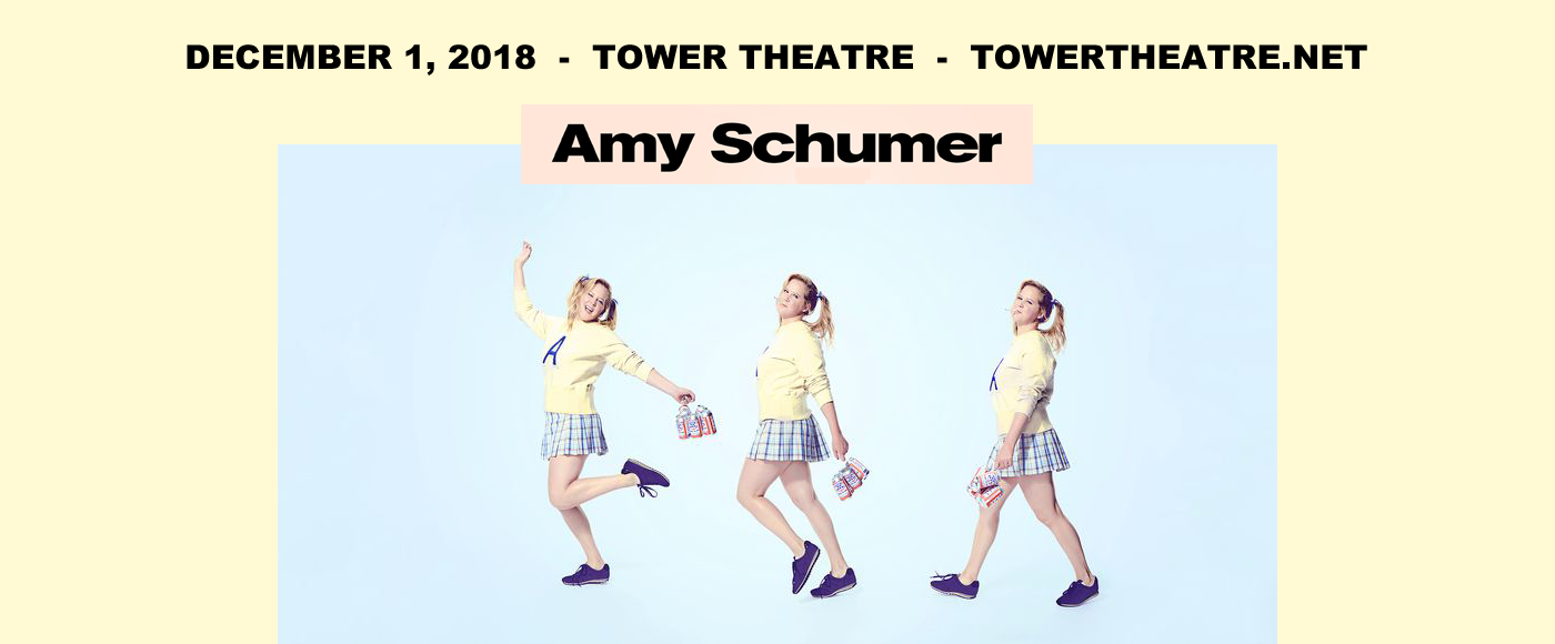 Amy Schumer at Tower Theatre