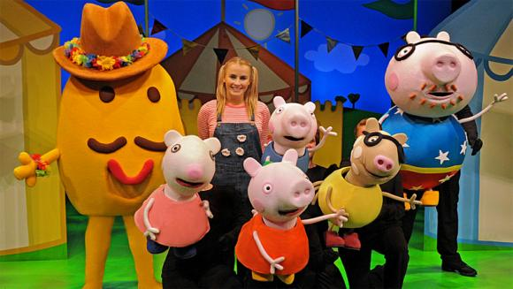 Peppa Pig at Tower Theatre